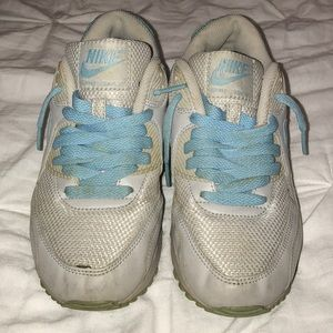 Limited edition baby blue & gray 5.5 Air Max 90